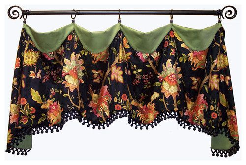 Cuff Top Valance - - window treatments - dc metro - by Fashion Window Treatments