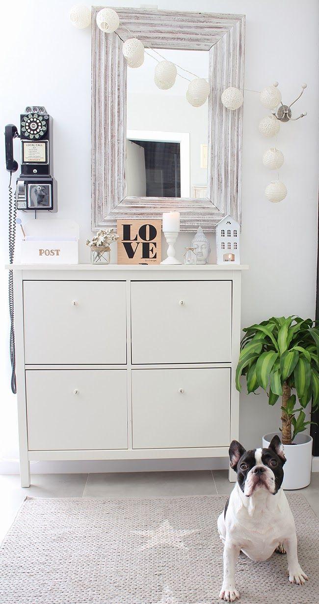 HEMNES shoe cabinet | Boho Deco Chic