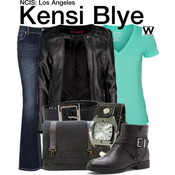 Inspired by Daniela Ruah as Kensi Blye on NCIS: Los Angeles.
