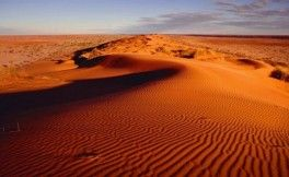 Belle photo des dunes de sable de Mui Ne