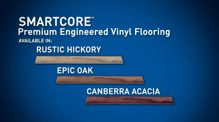 Smartcore Premium Engineered Vinyl Flooring Lowes
