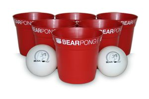 The life size version of beer pong that travels anywhere - beach, tailgates or the backyard. #bearpong