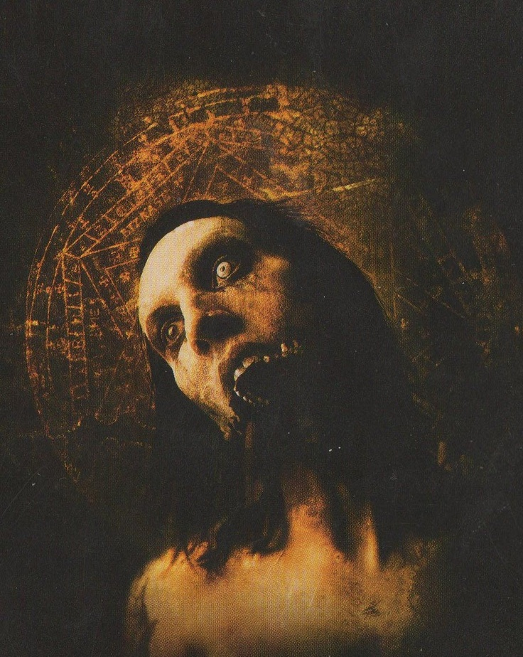 """Marilyn Manson-Art from """"Holy Wood"""" want this as a poster"""