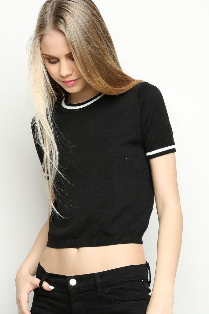 Brandy ♥ Melville   Ingrid Knit Top - Clothing