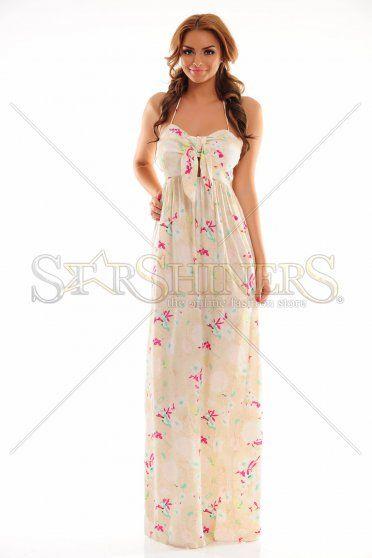 Serene Vision Cream Dress