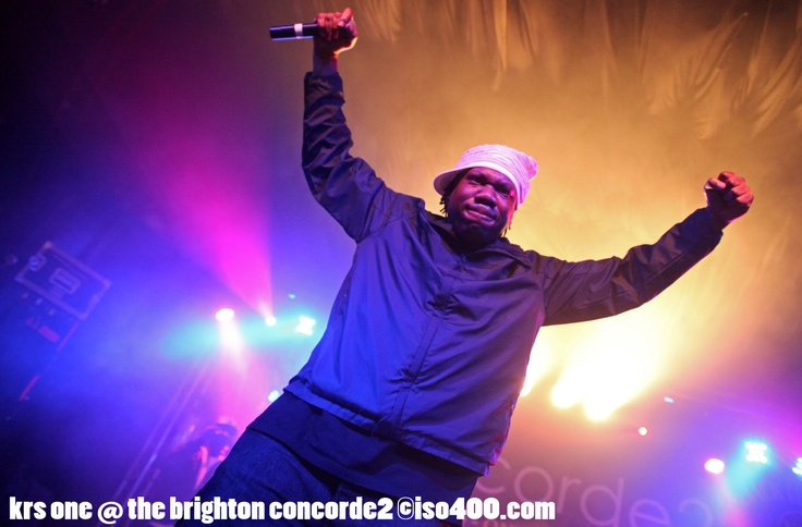 Hip Hop legend KRS One LIVE at Concorde2 on Thursday 6th June.  Copyright: Andy Sturmey - All use to be agreed in writing first