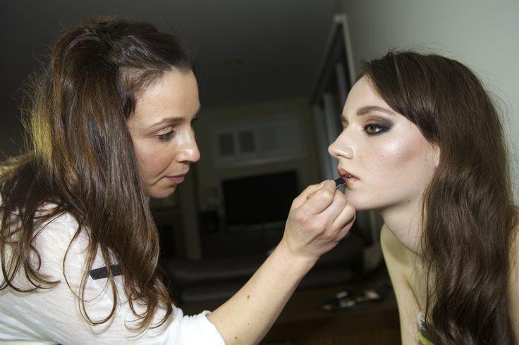 First Model Shoot  Model - Gaby Makeup - Effie T Photographer - Justin Curtis