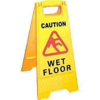 Viva Brite Wet Floor Sign Caution Wet Floor - Size 640mm(h) - Safety Floor Sign Brand New (Barcode EAN = 0781068870315). http://www.comparestoreprices.co.uk/december-2016-4/viva-brite-wet-floor-sign-caution-wet-floor--size-640mm-h--safety-floor-sign.asp