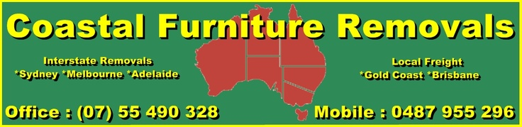 Coastal Furniture Removals - Offering Local Freight and Interstate furniture removals service