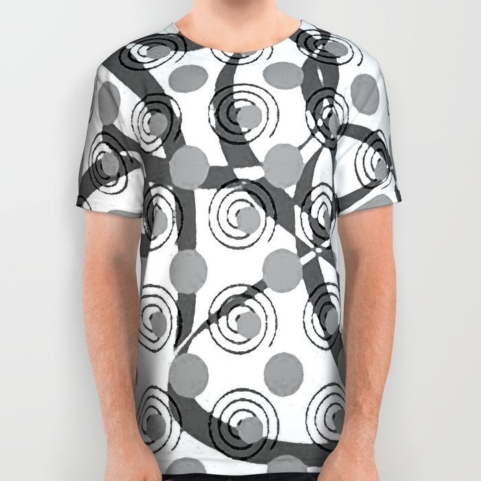 Love Laces grey All Over Print Shirt by mirimo | Society6