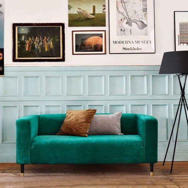 Les 25 meilleures id es de la cat gorie housses de chaises for Housses de canape ikea