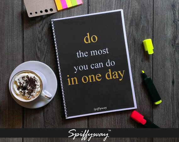 Printable Daily Planner  Daily Planner 2016  Monthly by Spiffyway #dailyplanner #printabledailyplanner #weeklyplanner #monthlyplanner #printableplanner #dailyorganizer #todoplanner