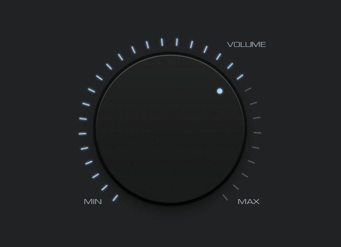 Volume Knob For A Yamaha Htr Receiver