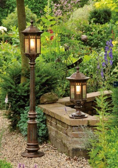 27 best garden lamp posts images on pinterest. Black Bedroom Furniture Sets. Home Design Ideas