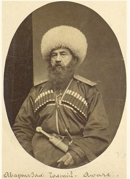 Zechariah Chohsky, former Naib Shamil, the second half of XIX century. Dagestan, Russia
