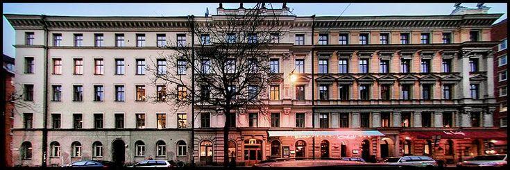 Fasadhyvling på Swedenborgsgatan