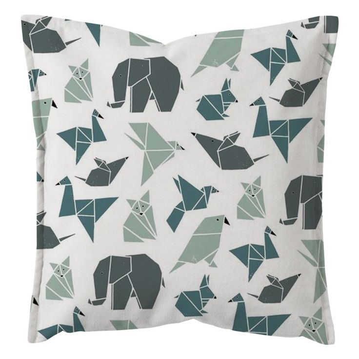 """Dekoratyvinės pagalvėlės užvalkalas """"Paper Zoo"""""""