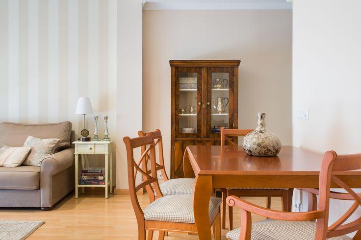 cas pràctic: incloure un menjador al saló | margarida muñoz :: decoradora & home stager :: Barcelona