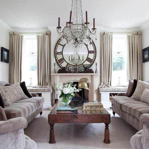 Mirror/Clock Orsay Style: