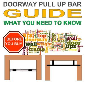Do you know which type of pull up bar you need?  Find out what you need to know before you part with your money.