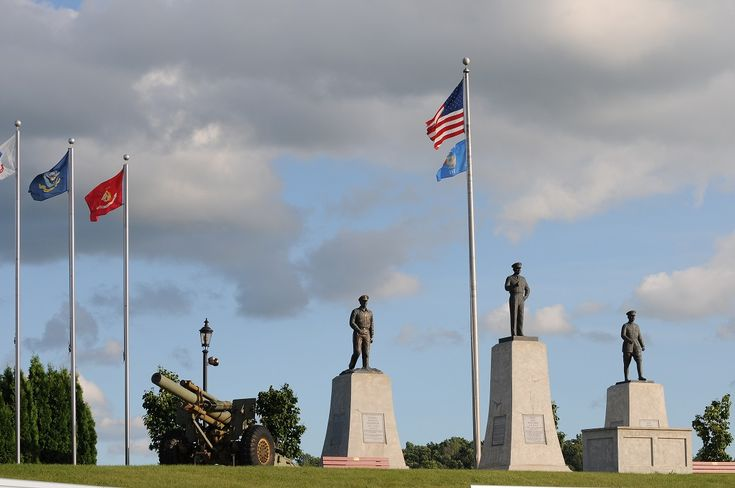 Another view of the tribute to our Great Generals
