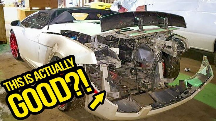 My Cheap Lamborghini Has A SERIOUSLY Sketchy History (And Why That's A G...