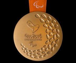 Medalha dos Jogos Paralímpicos Rio 2016 (Foto: Divulgação/Rio2016)