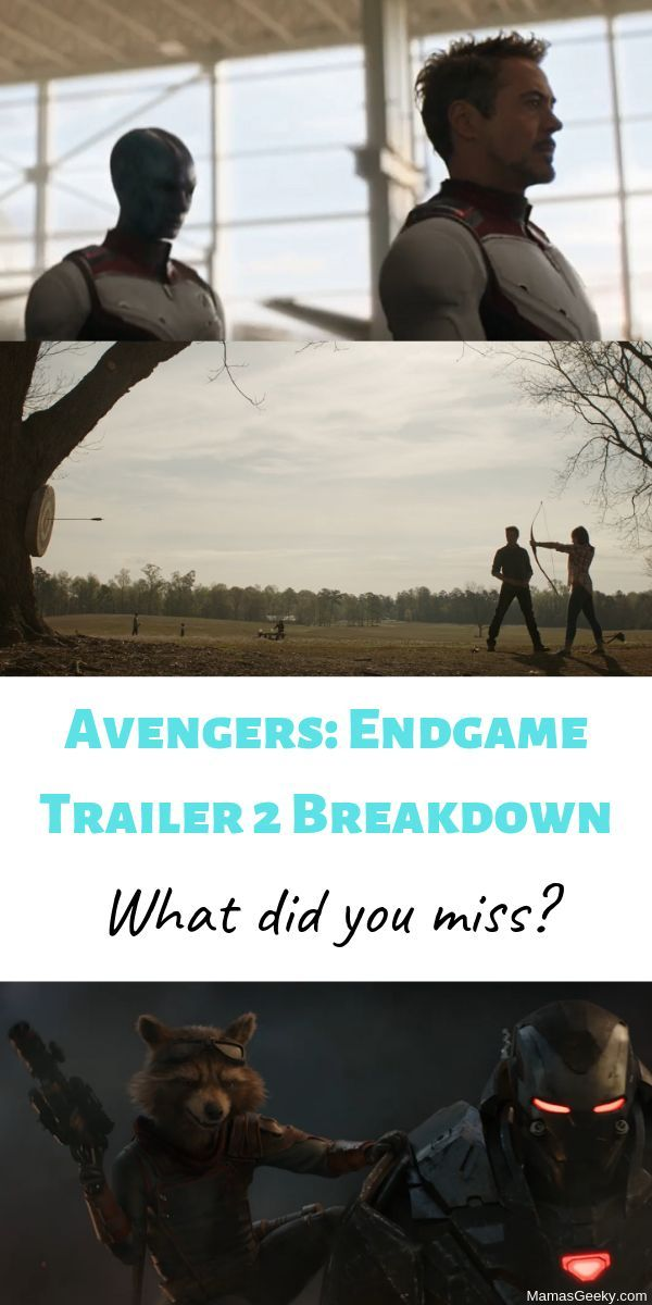 What We Saw In The BRAND NEW Avengers: Endgame Trailer! (+ My