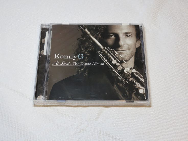 At Last...The Duets Album by Kenny G CD 2004 Arista Records I Believe I Can Fly #Smooth