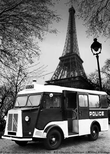 Citroën Type H police nationale 1963