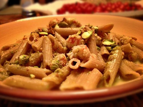 Pesto dishes, Pistachio pesto and Penne on Pinterest