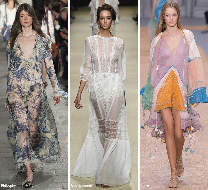 Spring/ Summer 2016 Fashion Trends: Feminine, Romantic Fashion  #trends #fashiontrends