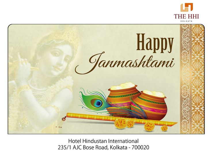 May the sacred festival of Janmashtami usher your life with joy, peace and love! We wish you all a very Happy Janmashtami. #HappyJanmashtami #Janmashtami #Wishes #Happiness #HHIKolkata #Kolkata