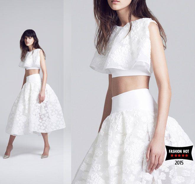пышные белые юбки maticevski 2015