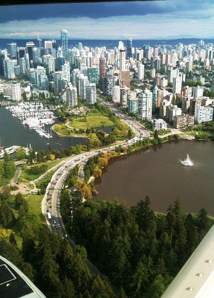 :::: PINTEREST.COM christiancross :::: Downtown Vancouver from the Air | Flickr - Photo Sharing!