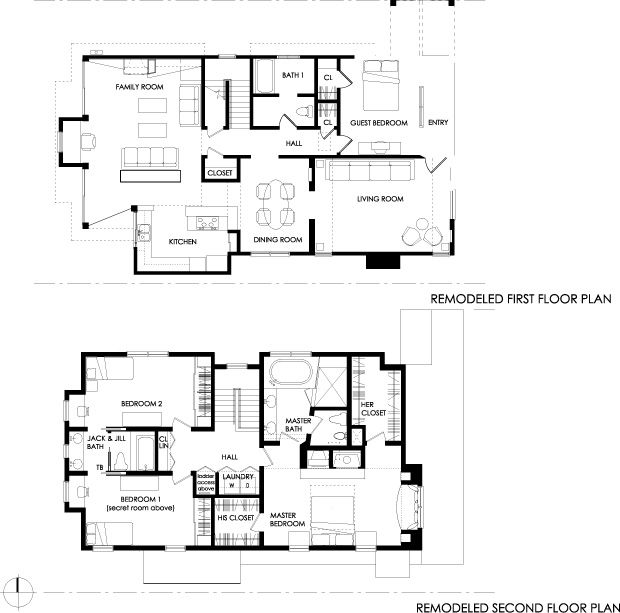 The not so big house floor plans pinterest family for Big family house floor plans
