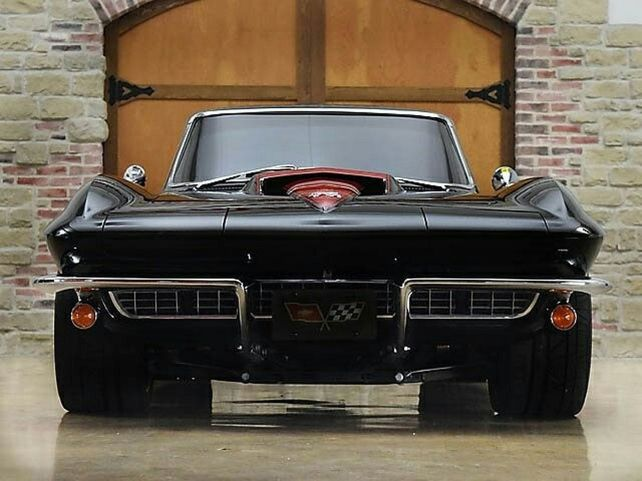 Corvette Stingray Custom Muscle Cars 46