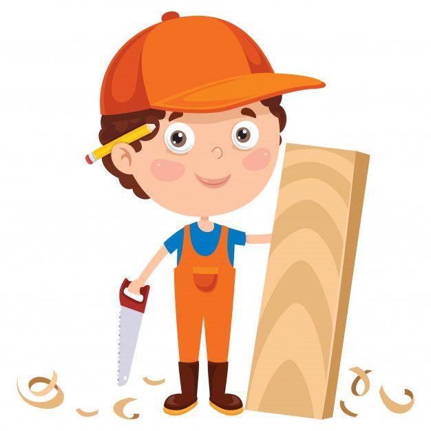 Pequeno Carpintero De Dibujos Animados T Premium Vector Freepik Vector Arbol Personas Madera Casa Carpintero Dibujo Dibujos Animados Dibujos