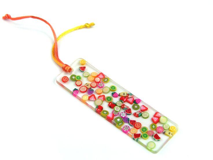 #bookmark #resin #fimo #fruits #miscelaart