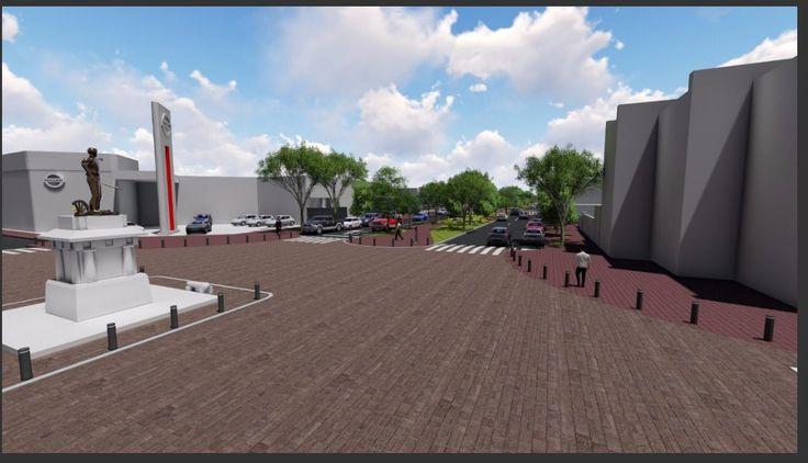 Presenta Gobierno de Tamaulipas proyecto de remodelación del 17 en Ciudad Victoria.