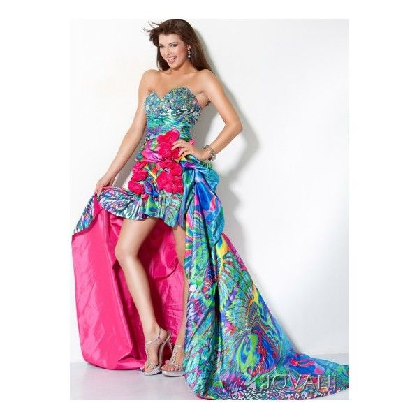 71 best Colorful Prom Dresses images on Pinterest | Colorful prom ...
