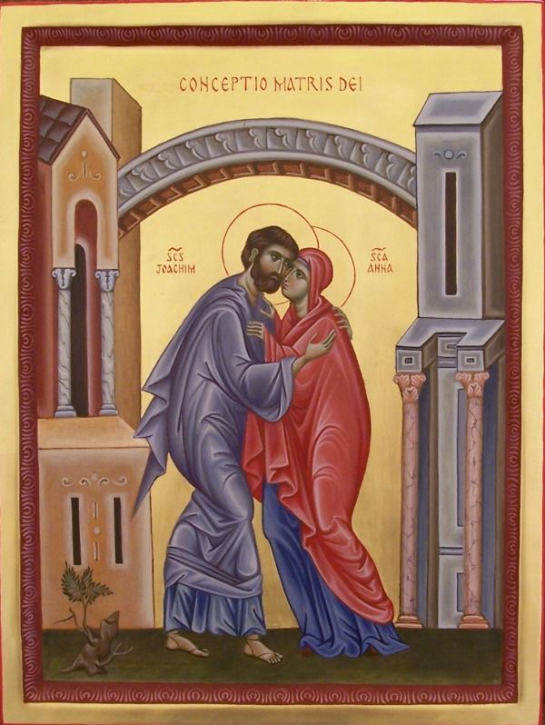St. Joachim & St. Anna - The Conception