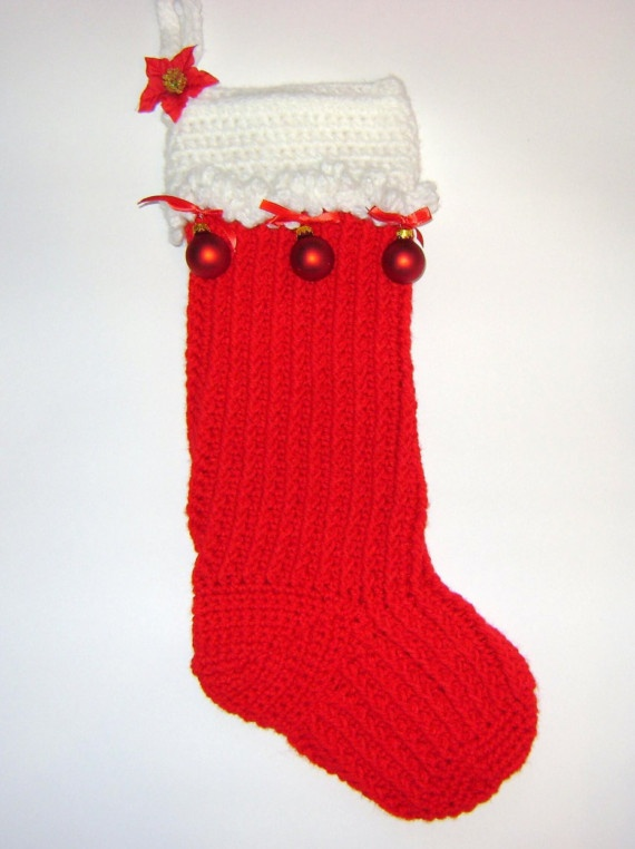 Crochet Xmas Stocking : Crochet Christmas Stocking Christmas Pinterest