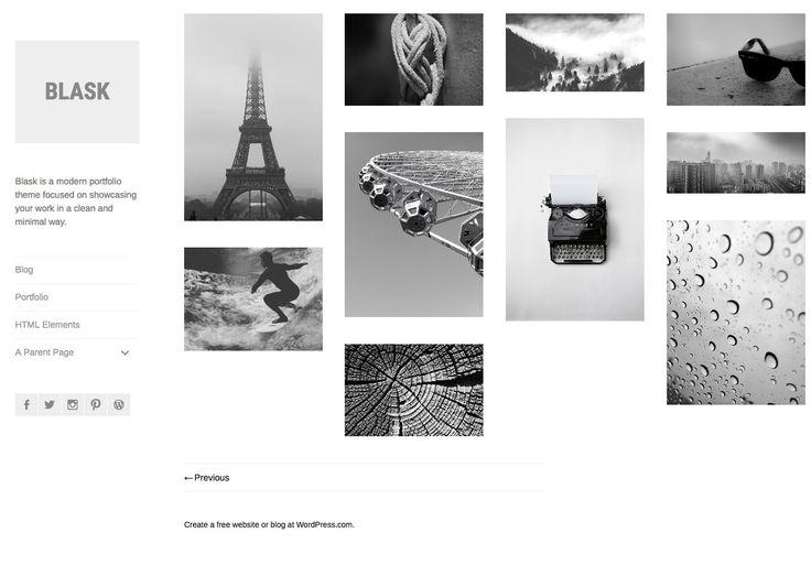 Blask Theme ‹ victorialeclerphotography — WordPress.com