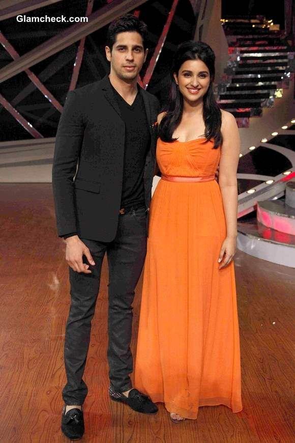 Parineeti and Siddharth Malhotra on Nach Baliye