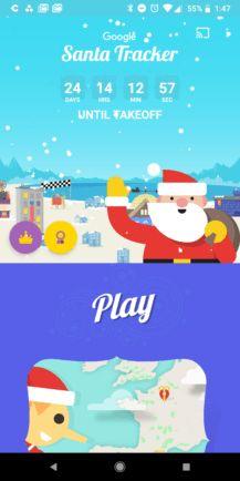 [Ho ho ho] Googles Santa Tracker app updated for 2017