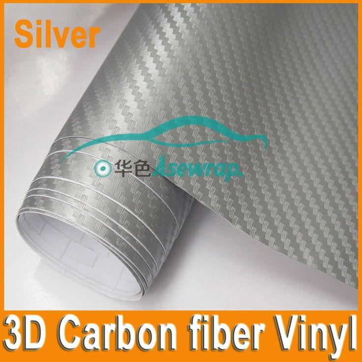 10/20/30CMx152CM high quality thick 3D Carbon fiber vinyl 3D film for Car wrapping car decoration car sticker