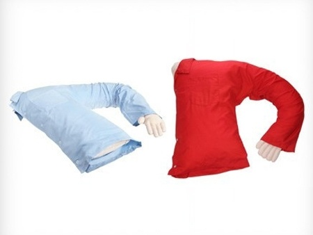 The coolest thing ever for deployments/TDY's... Boyfriend/Girlfriend Snuggle Pillow.