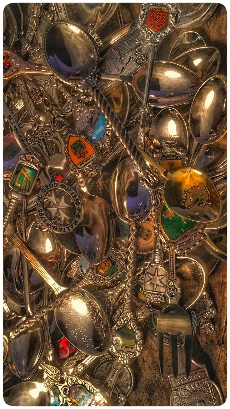 Sølvskjeer, minner fra reiser