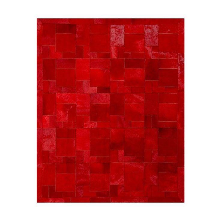 Dywan Rosso Puzzle futro konik, wymiary: 140x180 cm. Dostępny w In Situ! Powsińska 20A Warszawa.